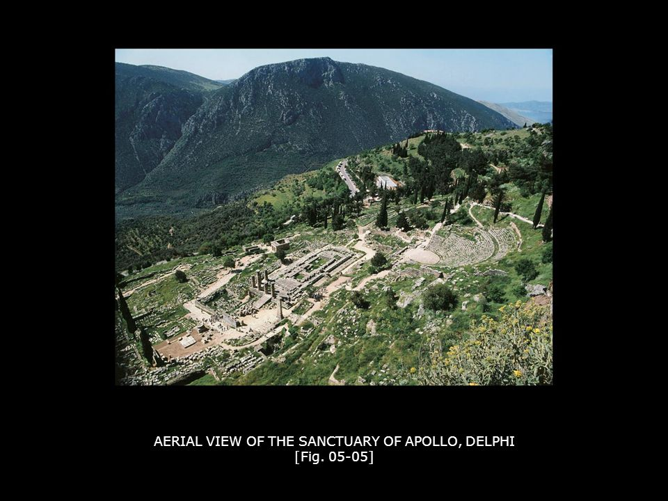 AERIAL VIEW OF THE SANCTUARY OF APOLLO, DELPHI [Fig. 05-05]